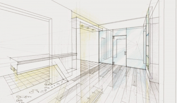 "Sketches for an Apartment ""Camelot"""